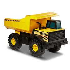 Amazon.com: Tonka Classic Steel Mighty Dump Truck Vehicle: Toys & Games