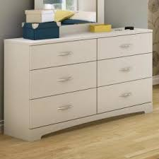 South Shore 6 Drawer Dresser White by South Shore Step One 6 Drawer Pure White Dresser 3160010 The