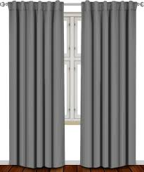 Sound Reducing Curtains Amazon by Amazon Com Blackout Room Darkening Curtains Window Panel Drapes