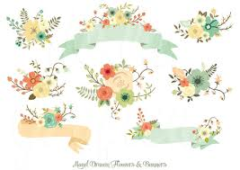 Rustic Clipart Love Banner 7