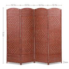 Liusin 4 Panel Room Dividers 5.9 Ft Tall Wood Mesh Woven Rattan  Freestanding Folding Privacy Screen Portable Partition Wall Divider With  Solid Wood ... Outdoor Fniture Woodworking Plans Custom Made Adirondack Chair Extra Tall Design Natical Ubild 851 Folding Rocking Whale Project 15 Awesome For Diy Patio The Family Hdyman Stool Plan Creekvine Designs Cedar Highback Wood Patio Chairs Beautiful Modern Metal Nightstands Delightful And Work Table Kitchen Wooden Wheels Casters Glodea Xquare X45 Foldable Back Highwood King Hamilton Whitewash And Recling Recycled Plastic