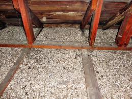 Popcorn Ceiling Asbestos Danger by Fixing Attics With Vermiculite Insulation Greenbuildingadvisor Com