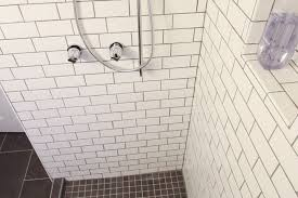 4x12 Subway Tile Spacing by How To Tile Your Bathroom Shower Like A Pro Apartment Therapy