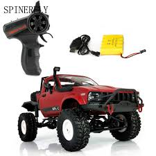 100 Rc Pickup Truck SPINERFLY 116 RC Car 24GHz 4WD Remote Control Car