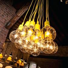 large bulb outdoor lights string showcase bar big