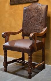 Rustic Dining Chairs Inspired By Old World Colonial And Mexican