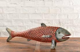 deko fisch aus holz