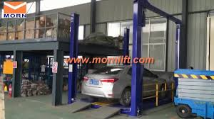 100 Car Elevator Garage 4 Post Hydraulic Parking Lift For Home Buy Parking Lift4 Post Hydraulic Home Parking Lift