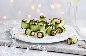 cucumber canapes canapés canapés ideas tesco food