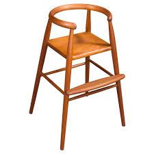 Danish Modern Child's High Chair By Nanna & Jorgen Ditzel