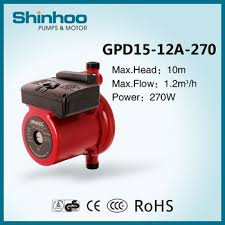 Automaticly Draw Water Home Water Pressure Booster Pump gpd15 12a