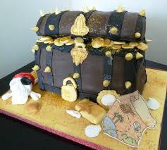 Pirate Treasure Birthday Cake