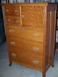 Tiger Oak Dresser Chest by Dresser Collection On Ebay