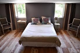 chambre parquet chambre à coucher avec parquet aux lames de tailles différentes et 4