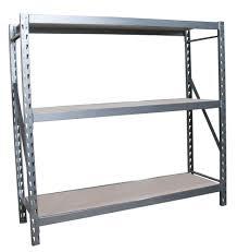 Steel Storage Rack 72 x 77 x 24 Inches in Heavy Duty Storage