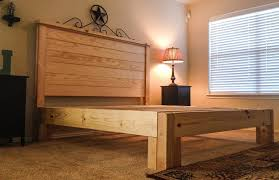 Rustic King Size Bed Frame Style