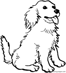 Fresh Coloring Pages Of Dogs 77 For Free Colouring With
