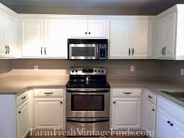 GF Linen Milk Painted Kitchen Cabinets