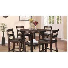 19001 trd4 5 piece counter high dining set dining table and 4