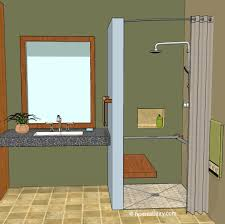 Bathtub Corner Water Stopper by Curbless Shower 8 Ways To Contain The Water Inside Homeability Com