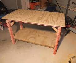 Image Of Portable Workbench Woodworking