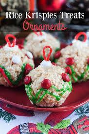 Rice Krispie Christmas Tree Ornaments by Rice Krispie Christmas Treats U2013 The Pink Peony