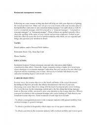 Management Objective Resume For Study Nurse Manager Examples Restaurant Unique C