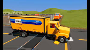 100 Penske Trucks MASSIVE LEGO Cars Truck Semis VS TRAIN Enjoy Our Brick