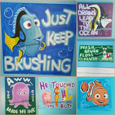 Finding Nemo Bath Towel Set by Artwork For Nemo Themed Room Product Link Included Room Themes