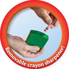 Crayola Bathtub Crayons Collection by Crayola Ultimate Crayon Case Sharpener Caddy 152 Colors