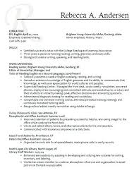 Cna Resume Example New Best Of Examples Personal Skills Resumes Concept High
