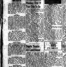 Millers Christmas Tree Farm Nc by The Duplin Times Warsaw N C 1933 1963 May 07 1953 Section