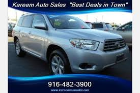 2008 Toyota Highlander Captains Chairs by Used 2008 Toyota Highlander For Sale Pricing U0026 Features Edmunds
