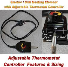 Patio Caddie Grill Regulator by Amazon Com Universal Replacement Electric Smoker And Grill