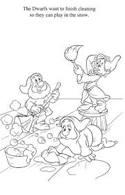 Snow White Colouring Book Pdf Coloring Pages Games