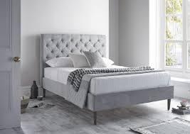 Victoria Upholstered Bed Frame Upholstered Beds Beds