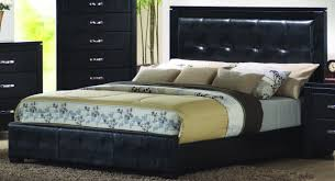 Black Leather Headboard King by Bedroom Marvelous Furniture For Bedroom Decoration With Tufted