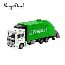 100 Garbage Truck Kids MagiDeal Die Cast Pull Back Sanitation Model