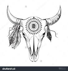 Decorated Cow Skulls Pinterest by Decorated Cow Heads Google Search Coloring Pages Pinterest