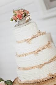 Shabby Chic Wedding Cake Sweet Peach Photography