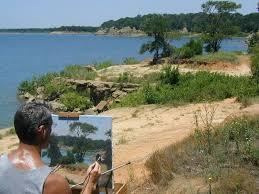Scenic Texas at Lake Grapevine