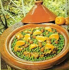 cuisine du maroc tajines à l agneau et aux petits pois