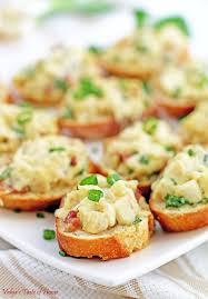 m fr canapes chicken bacon alfredo canapés appetizers valya s taste of home