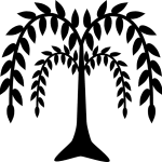 Willow Tree Clipart Free Image 16402 Weeping Clip Art Coloring Pages Photos