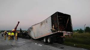 100 Two Men And A Truck Lakeland Fl WB Lanes Clogged On I4 In Polk After Semitrailer Fire And