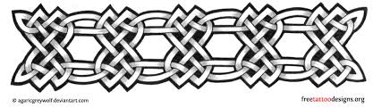 Tribal Armband Tattoo Design Celtic Knots