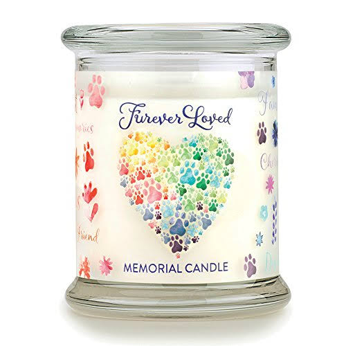 Pet House 69538 Furever Loved Memorial Candle, 8.5 oz