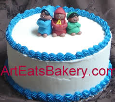 Alvin And The Chipmunks Cake Decorations by Alvin And The Chipmunks Birthday Cake Walah Walah