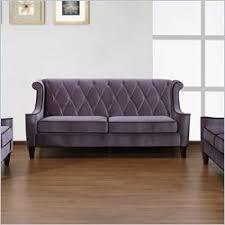 Armen Living Barrister Sofa by Velvet Sofas Discount Price Armen Living Barrister Velvet Sofa