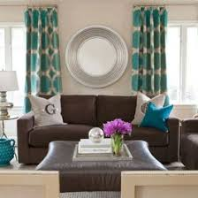 Dark Brown Sofa Living Room Ideas by Best 25 Teal Curtains Ideas On Pinterest Window Curtains
